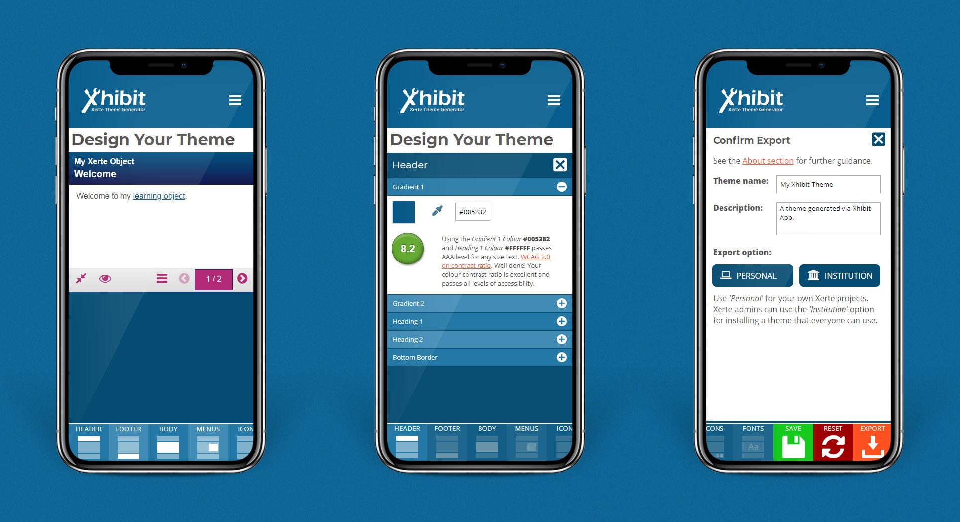 Xhibit App Mobile